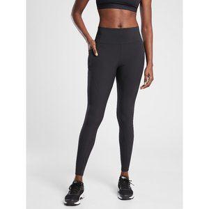 NWT Athleta Quest Hybrid Tight Pant Solid Black